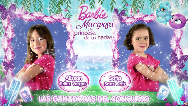 Barbie Mariposa Princess
